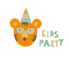 "Vector ""Kids Party"" Print"