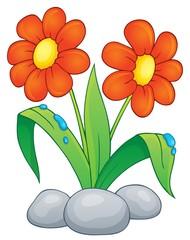 Poster Voor kinderen Spring flower topic image 1