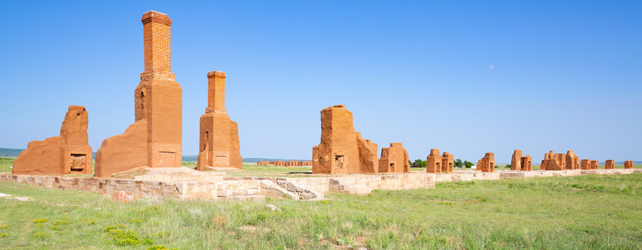 Fort Union National Monument in New Mexico, USA
