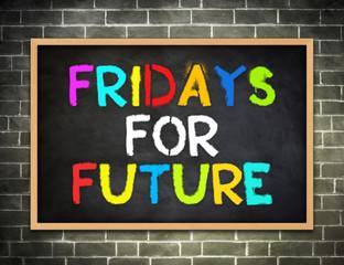 Fridays for Future - campaign slogan