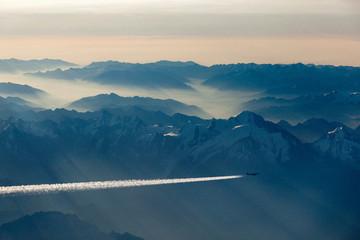 Mont Blanc von oben