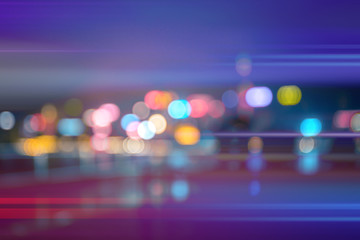 Abstract colorful circular bokeh background, abstract background