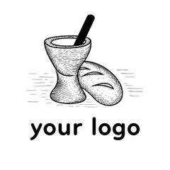 backery loggos hand drawn