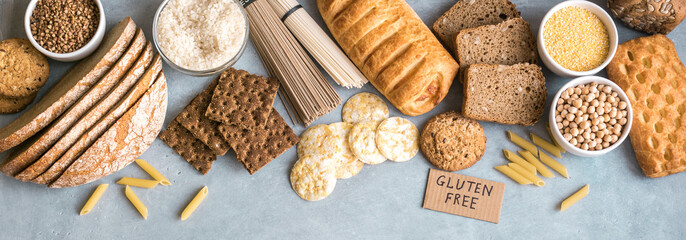 Gluten free food Wall mural