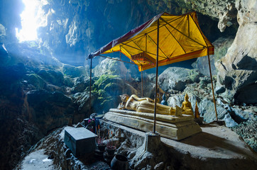 Tham Poukham Cave Blue Lagoon, near Vientiane, Laos