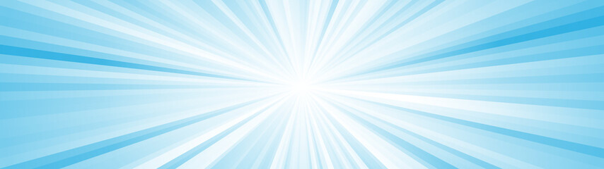 Abstract ray burst background, glow effect, comix Fototapete