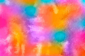 Watercolor texture vector background. Colorful aquarelle painting. Colorful watercolor stains. Scrapbooking paper. Easy to edit template for your artworks. Wall mural