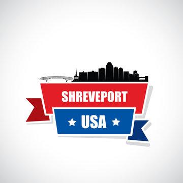 Shreveport skyline - Louisiana, United States of America, USA