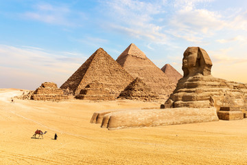 The Pyramids of Giza and the Great Sphinx, Egypt Fototapete