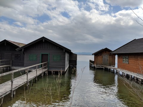 Impressionen vom Starnberger See in Bayern südlich von München