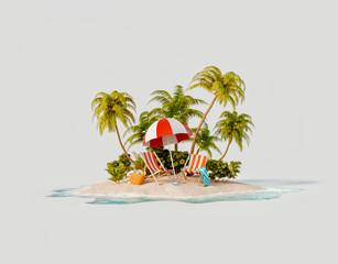 Obraz Travel and vacation concept - fototapety do salonu