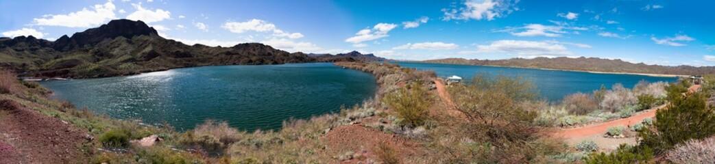 Arizona's Lake Havasu panorama.