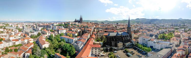 Luftaufnahme Clermont Ferrand Fototapete