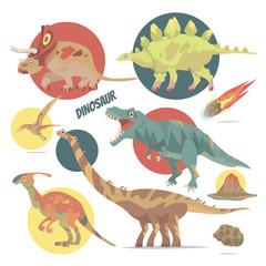 Keuken foto achterwand Dinosaurs Dinosaur