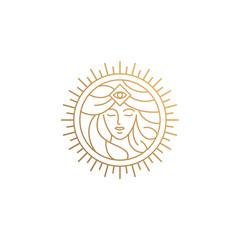 goddess logo design