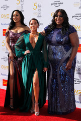 50th NAACP Image Awards – Arrivals – Los Angeles - Tamera Mowry, Adrienne Bailon and Loni Love