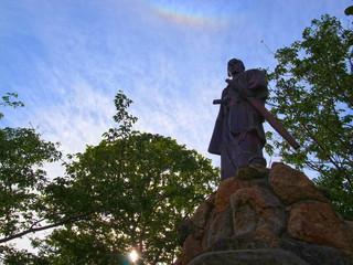 高杉晋作の銅像