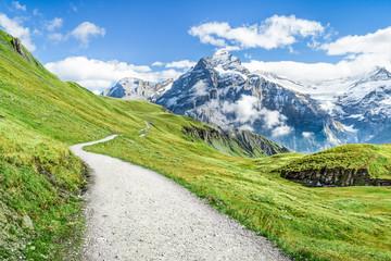 Fototapete - Urlaub in den Schweizer Bergen