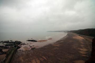 Dawlish Warren beach in Devon