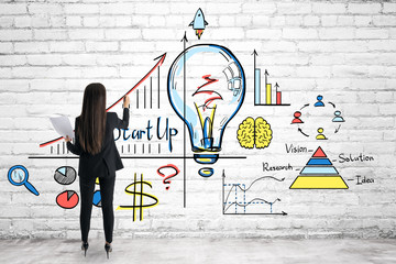 Idea and startup concept