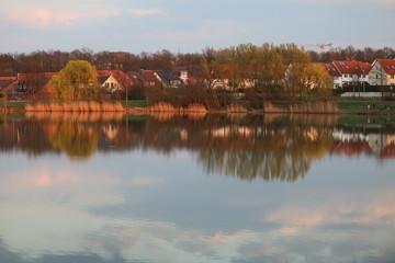 Canvas Prints River wasserlandschaft