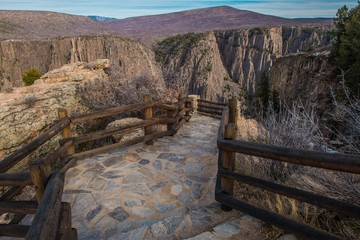Fotomurales - Gunnison Black Canyon Trail