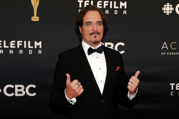 Kim Coates arrives on the red carpet at the 7th annual Canadian Screen Awards in Toronto, Canada