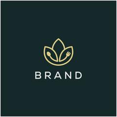 food flower logo design