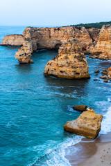 Praia da Marinha, Lagoa, Algarve, Portugal, Europe