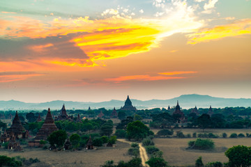 1000 Temples of Bagan, Myanmar