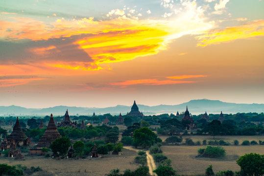1000 Temples of Bagan, Myanmar