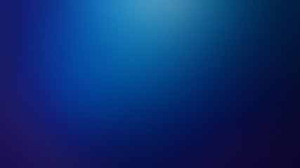 Dark Blue Defocused Blurred Motion Gradient Abstract Background, Widescreen