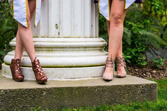 Graduation week for two sorority girls