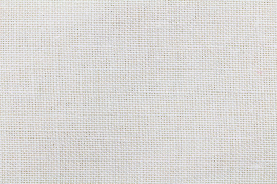 Linen background - Abstract white cloth texure