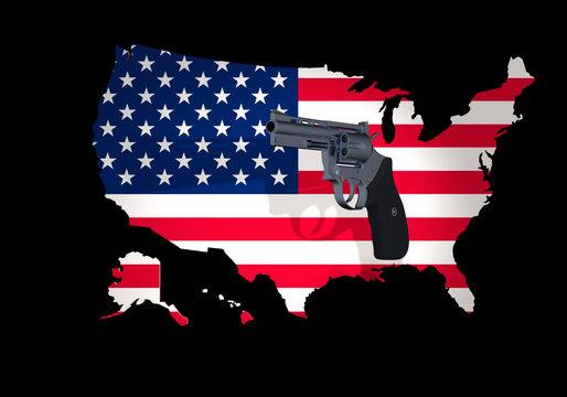 America under the shadow of a gun