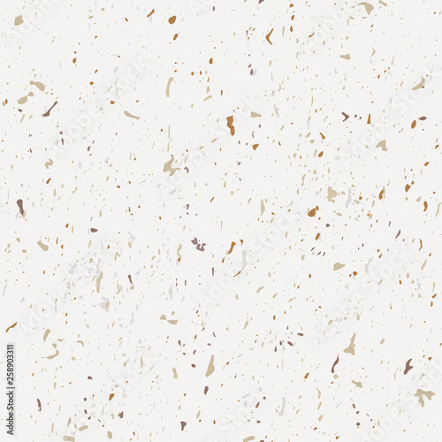 Terrazzo seamless patterns  Classic Italian marble