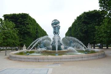 Ogród Luksemburski Paryż