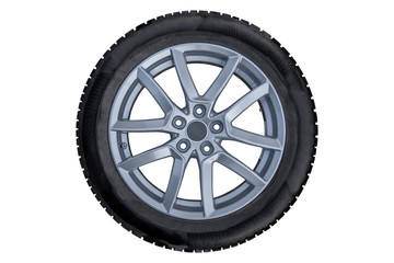 Car tire type with aluminum isolated