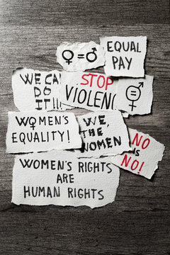 womens rights and gender equality concepts