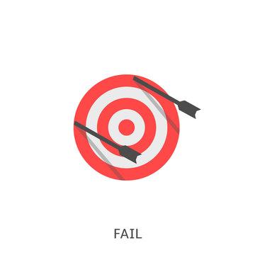 Fail icon Vector