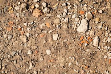 Fototapeta kamienie na ziemi obraz