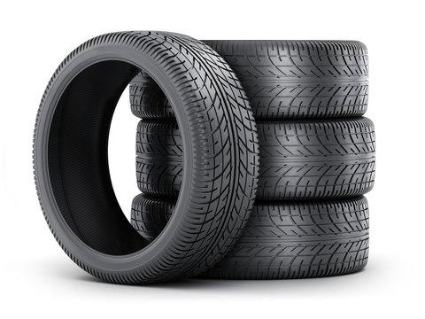 Four tire car