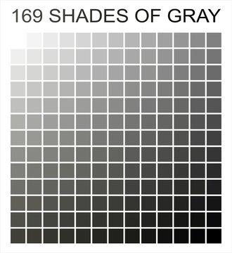 169 shades of gray