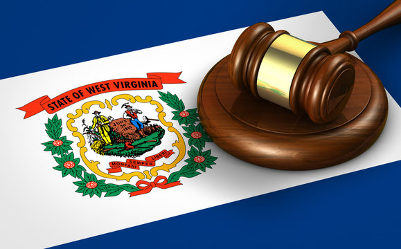 West Virginia Law Legal System Concept