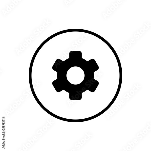 Setting Icon Vector  Cog Settings Icon Symbol