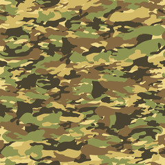 Camouflage seamless tiling pattern