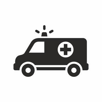 Ambulance vector icon