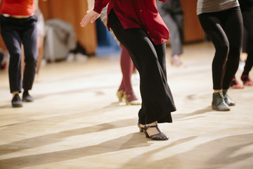 Türaufkleber Tanzschule Dancing