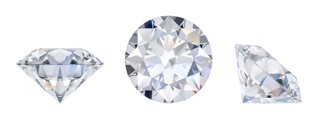 diamond in three dimensions