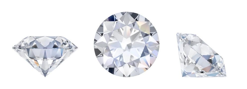 diamond in three dimensions